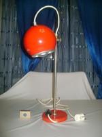Art deco gömb íróasztal lámpa, asztali lámpa