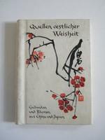 Japán bölcsességek német nyelvű könyvecske