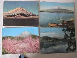 Képes levelezőlapok Japánból (1950-es évek), 6 darab
