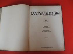 Magyar Kultúra (Társadalmi és Tudományos szemle ) 1943 I. félév