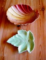 Finom angol porcelán tálkák 18 x 14 cm, 14 x 12.5 cm
