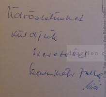 G029.90  Heiden -Svájc - aláírás Szentmihályi Jutka - Lakat Károly részére 1968