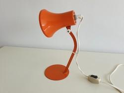 Régi retro asztali fém lámpa mid century