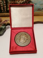 Georgi Dimitrov 1882-1949 bronz plakett dobozzal