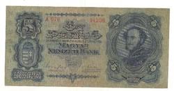 5 pengő 1928 ritka 1.