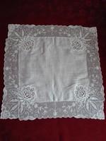 Antik díszzsebkendő