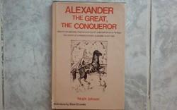 Nagy Sándorrorról New York-ban kiadott dedikált könyv