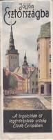 JÖJJÖN ÉSZTORSZÁGBA ritka, képes idegenforgalmi prospektus 1935