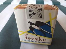 FECSKE füstszűrős cigaretta a '70-es évekből