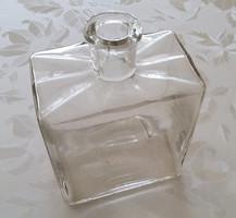 Régi vintage nagy parfümös üveg Molnár & Moser kölnis üveg 14 cm