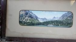 Nagyméretű levelező lap: Tátra: Poprádi tó