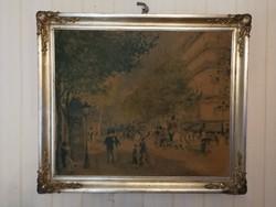 Renoir LAp ezüstözött keretében! Hivatalos pecsét múzeumi pecsét.