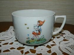 Ritka Zsolnay mese csésze.