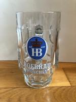 Hofbräu München vastag sörös korsó ( 0,4 l )