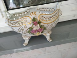 Porcelán kínáló-tál