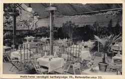 Budapest VII. Rottenbiller u. 52. Horváth Mihály Makk-hetes vendéglője