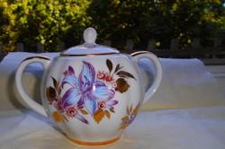 LOMONOSOV orosz porcelán cukortartó
