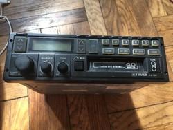 Fischer AX735 1980-as évekbeli autós rádiós magnó