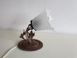 Régi vintage kis falikar fali lámpa