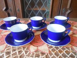 Zsolnay Patrizia Gucci alapmázas kávés csészék 5 db