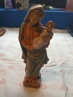 Mária kisdeddel Olasz szobor