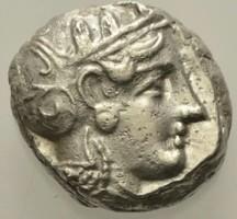 Attika Athén ezüst Tetradrachma   17.02g 21mm