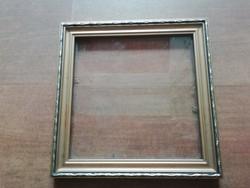Kis méretű képkeret, üveglappal