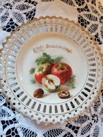 Eladó Angol antik gyümölcsös tányér!