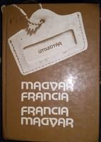 Úti szótár, magyar-francia, francia-magyar, ajánljon!