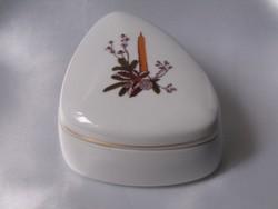 Hollóházi bonbonier/ékszeres