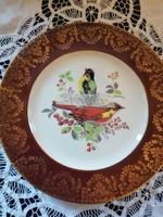 Eladó Angol madárkás dísz tányér!