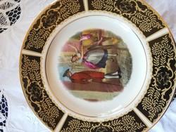 Eladó Angol jelenetes dísz tányér!