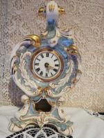 Eladó hatalmas porcelán barokk óra!