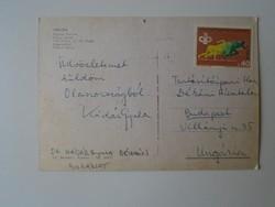 G029.124 Kádár Gyula dékán -Kertészeti Egyetem borászat -által küldött képeslap Velence