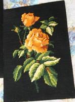 Goblein rózsa székkárpitnak vagy képnek keretbe