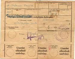 1944 dec 6. SAS katonai behívó