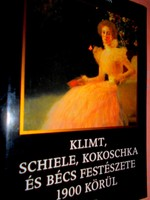 Bécs festészete 1900 körül -(Klimt, Schile, Kokasschka ) művészeti album-eredeti ár 4990 Ft