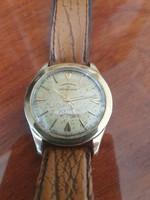 Ritka arany-acél Eterna matic chronometer karóra