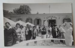 G029.121 Szilvásvárad Szalajka vendéglő 1966-ban készült képeslap nagyságú privát fotón