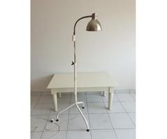 Régi retro orvosi kórházi lámpa állólámpa loft industrial