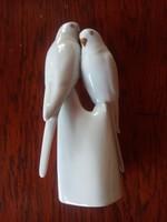 Hollóházi papagáj pár