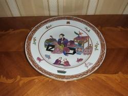 Herendi antik Ming mintás  tányér
