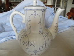 Antik fajansz teáskanna, nagy méret