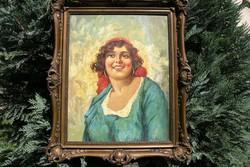 Gy. Riba János (1905-1973)  Portré!