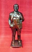 Lenin Zsolnay eozin álló Lenin szobor 43 cm.