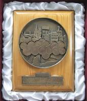 Magyar Külkereskedelmi Bank Szakszervezeti Bizottság emlékplakett