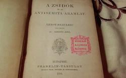 Leroy-Beaulieu :A zsidók és az antisémita áramlat (1894) JUDAIKA