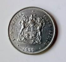 1 Rand Suid Afrika. 1977.