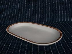 Al Alföldi porcelán kínáló pecsenyés tál