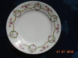 Ges,Gechützt Austria Girlandos szecessziós,dombormintás tányér 18 cm